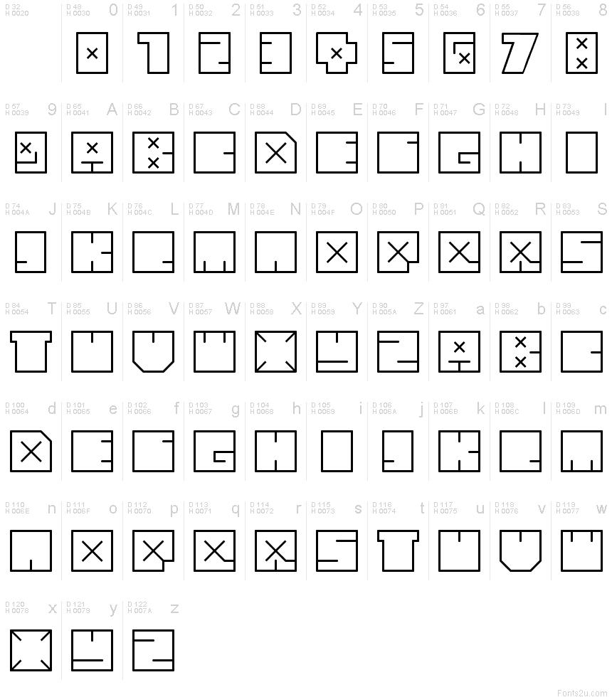 Download andre bold font