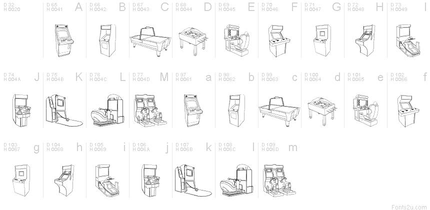 Latín básico - Mapa de caracteres