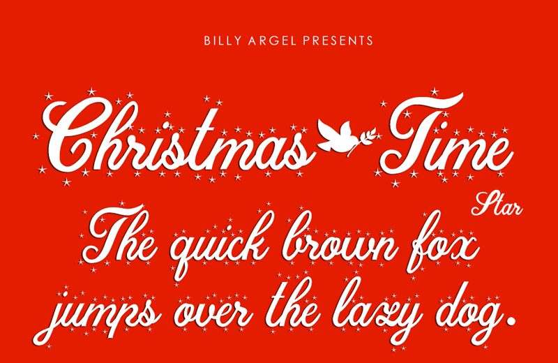 Christmas Time Personal Use Regular font