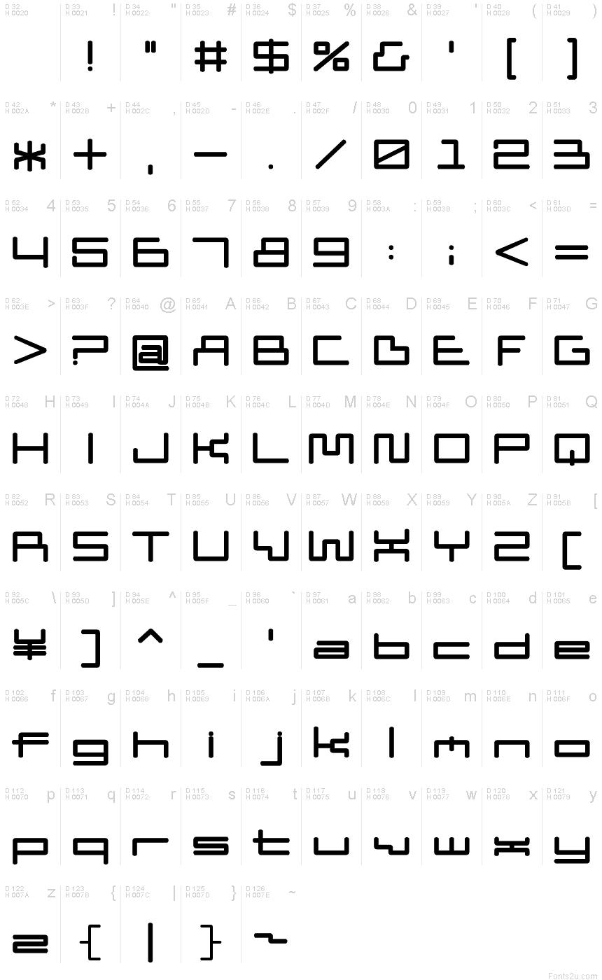 Download D3 PipismW font
