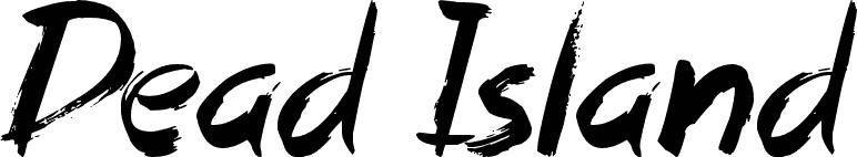 Font Freak, Dead Island - by Jonathan S. Harris