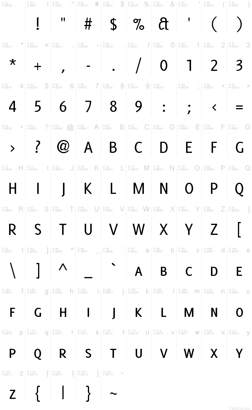 Delicious smallcaps font basic font information biocorpaavc