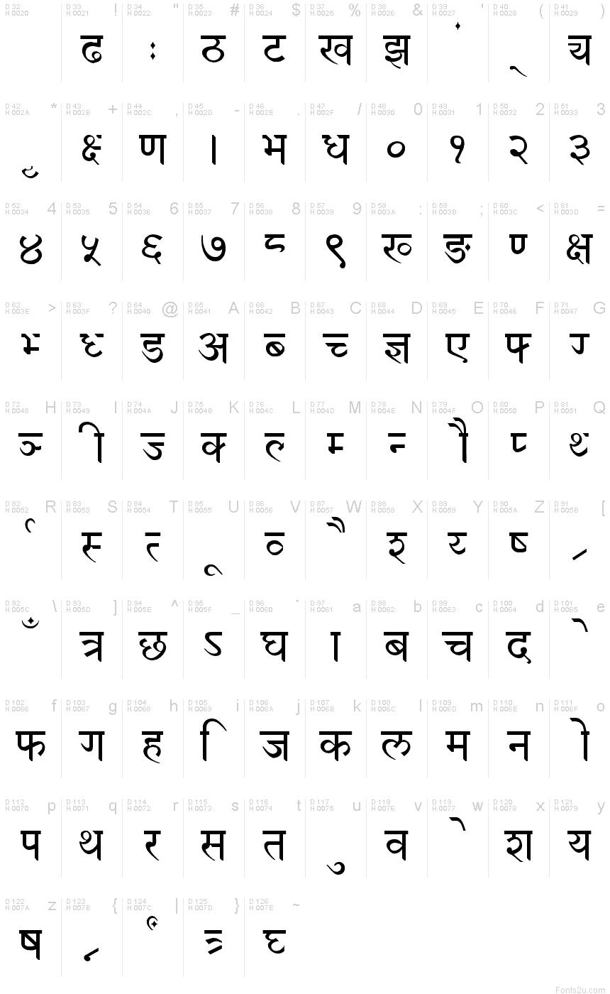 Devanagari New Normal Font