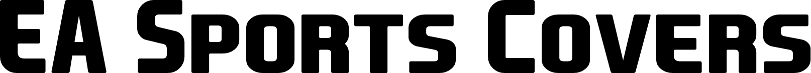 EA Sports Covers SC Bold font