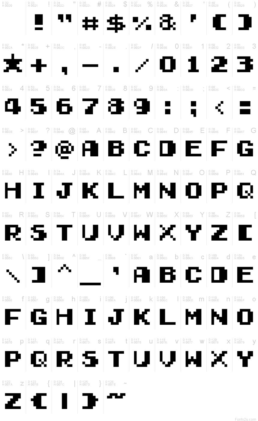 Gamegirl Classic Font