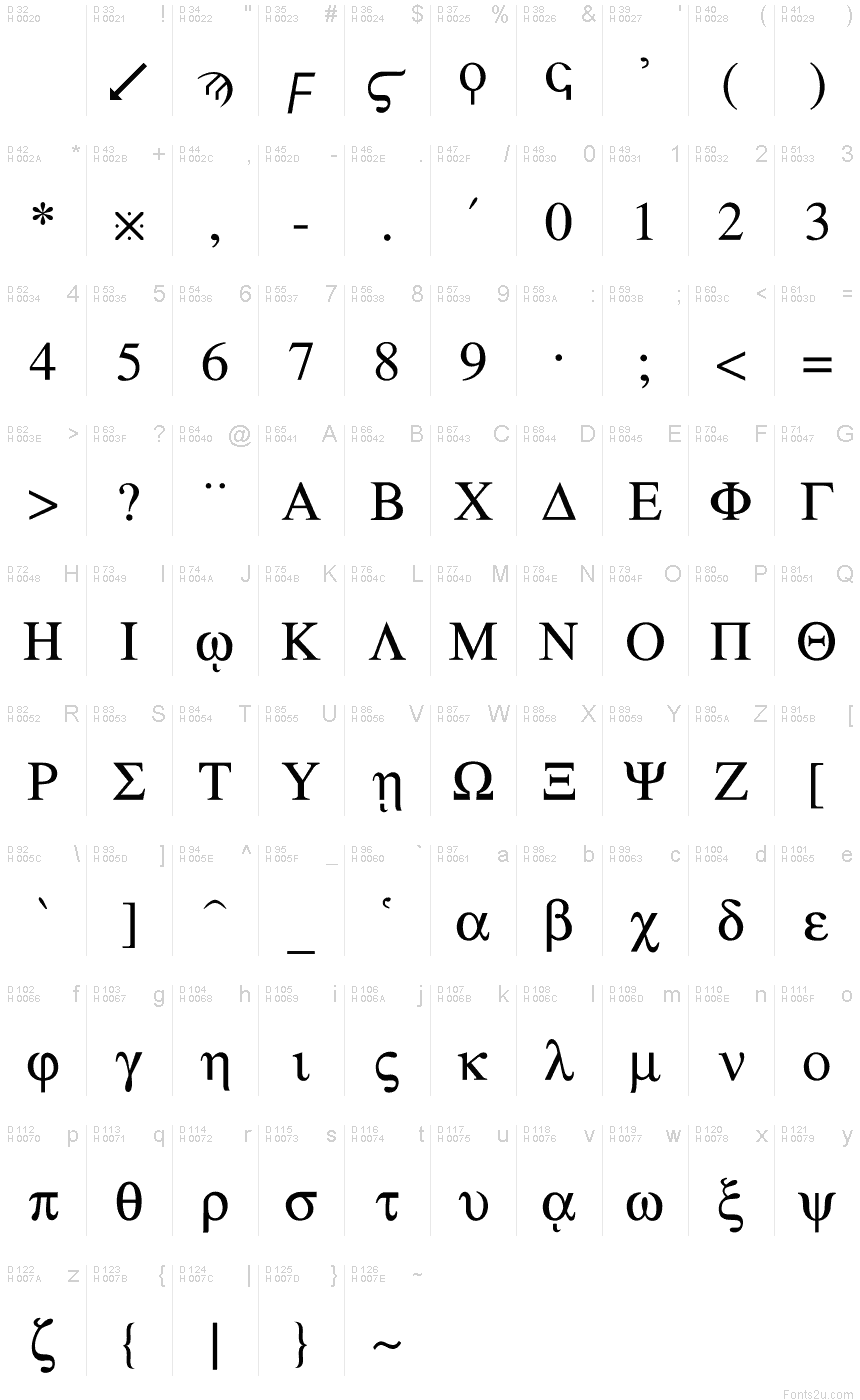 Greek regular font basic font information buycottarizona