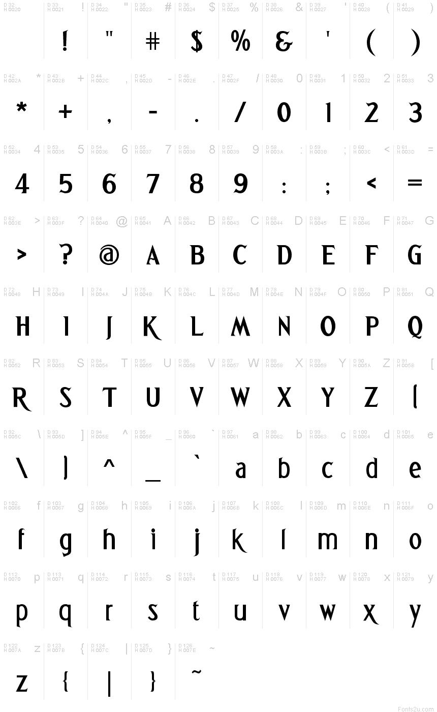 Greetings bold font basic font information m4hsunfo