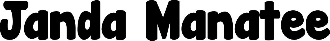 Janda Manatee Solid Font