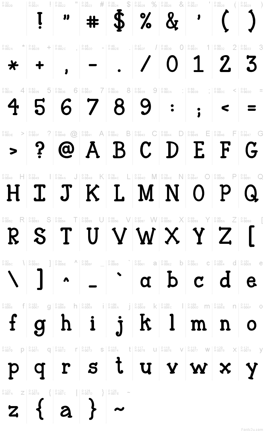 Janda Closer To Free Font