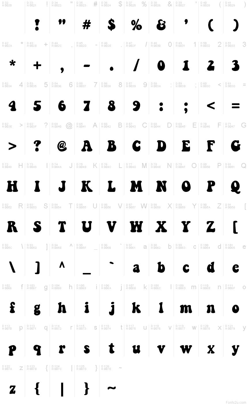 Keep on Truckin'FW font