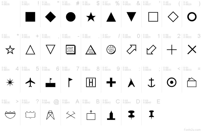 Basic Map Symbols Image Collections Meaning Of Text Symbols