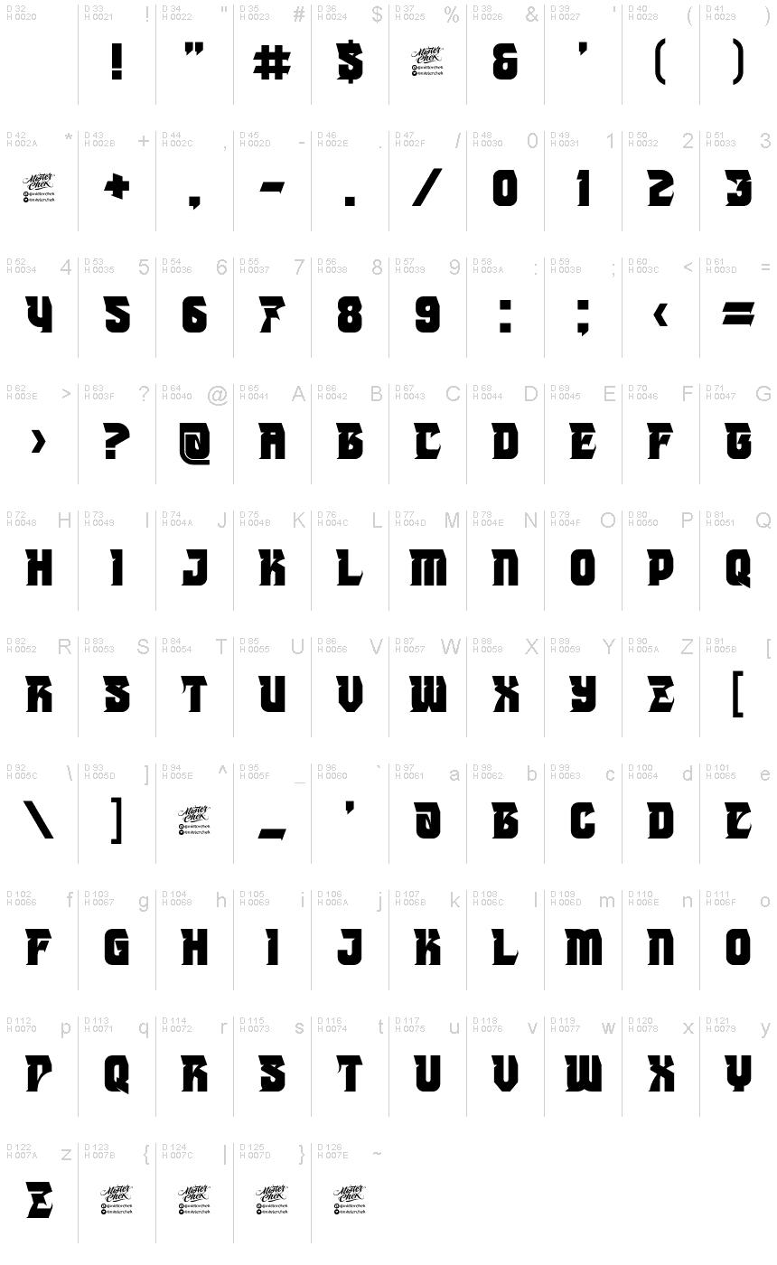 MCF Joker Font