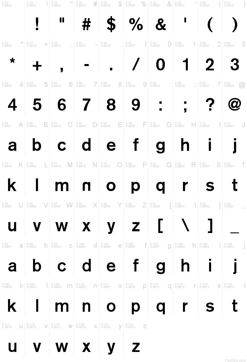 Reznor Broken font