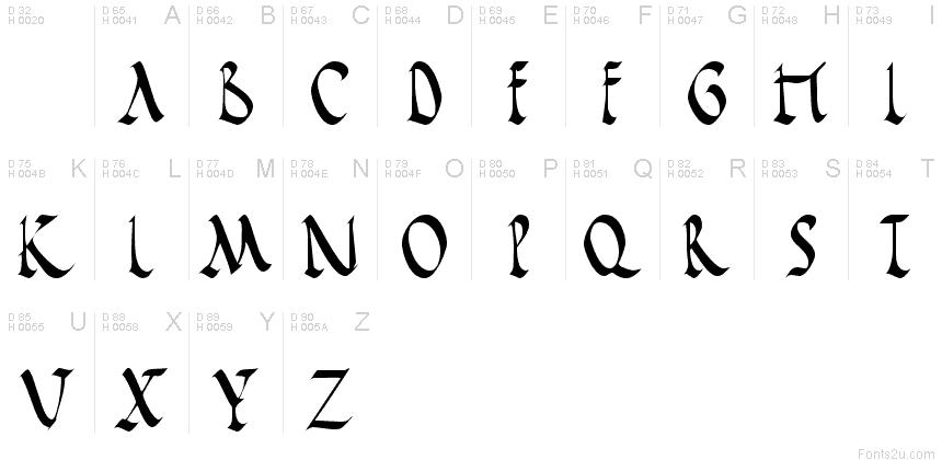 Roman Rustica Normal Font