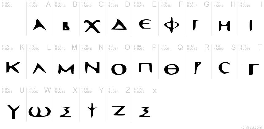 Sinaiticus greek uncial font