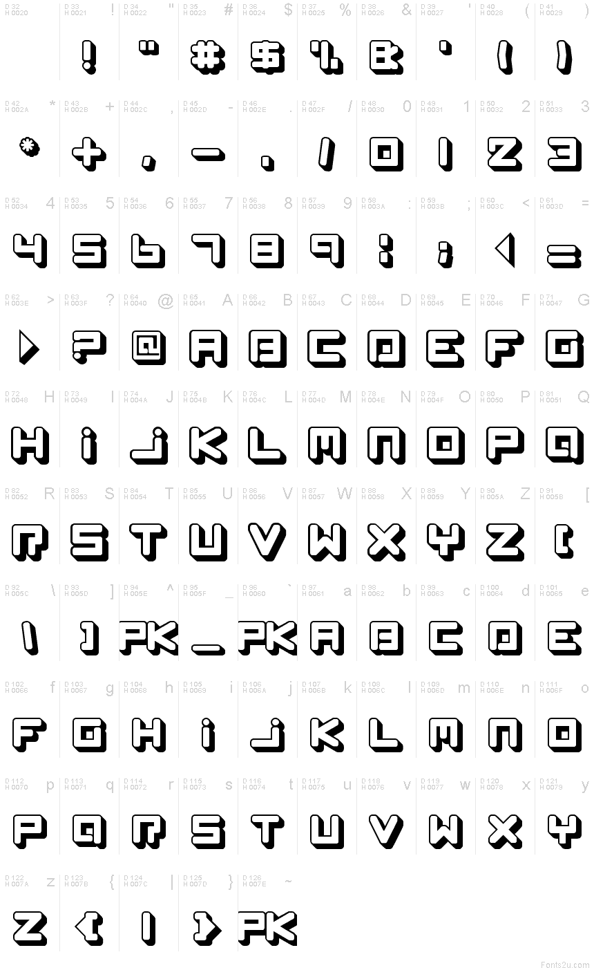 Spleen Machine Az Font