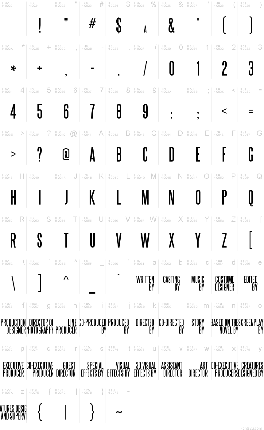 Font basic font information biocorpaavc Images