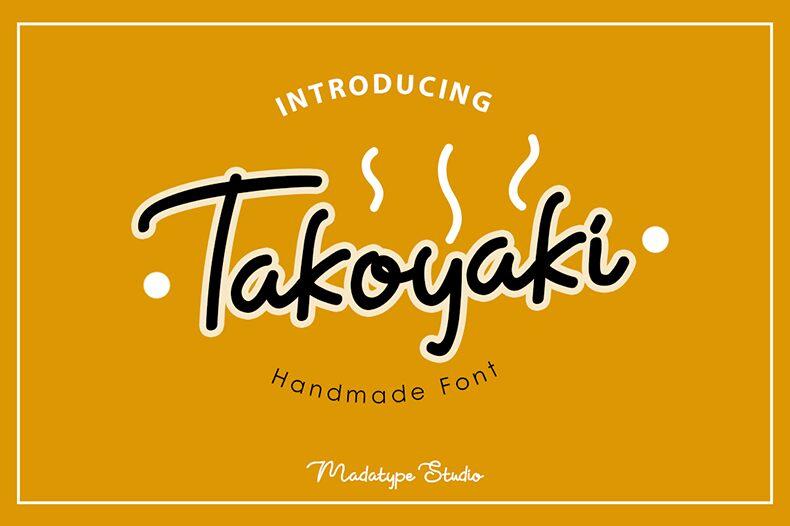 Design Banner Takoyaki - desain spanduk keren