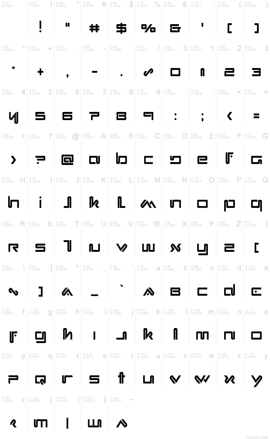 Download Xephyr Condensed font