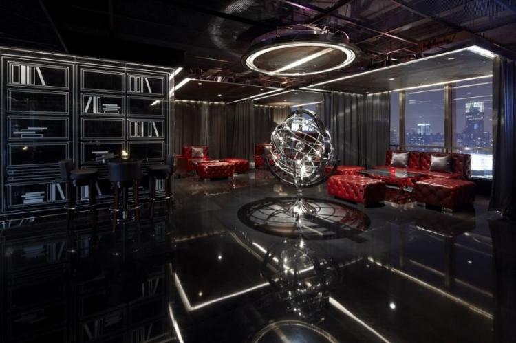 Shanghai's Yu Bar by Kokaistudios