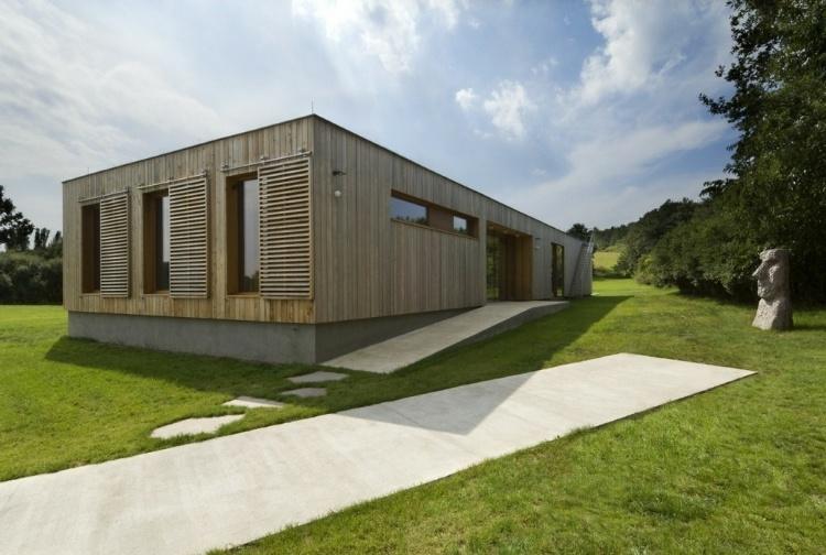 Modern Weekend House in Bus, Czech Republic « HomeAdore