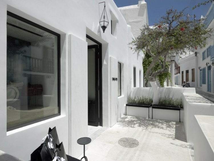 home interiors en linea. Pin Save Email Linea Piu Boutique on the Greek island of Mykonos  HomeAdore