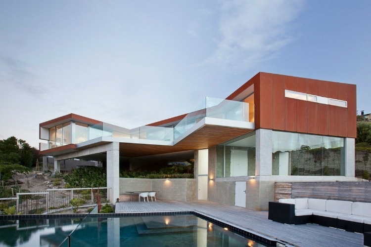 Lovely Redcliffs House By MAP Architects