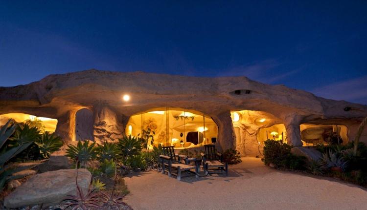 Flintstones Style House In Malibu