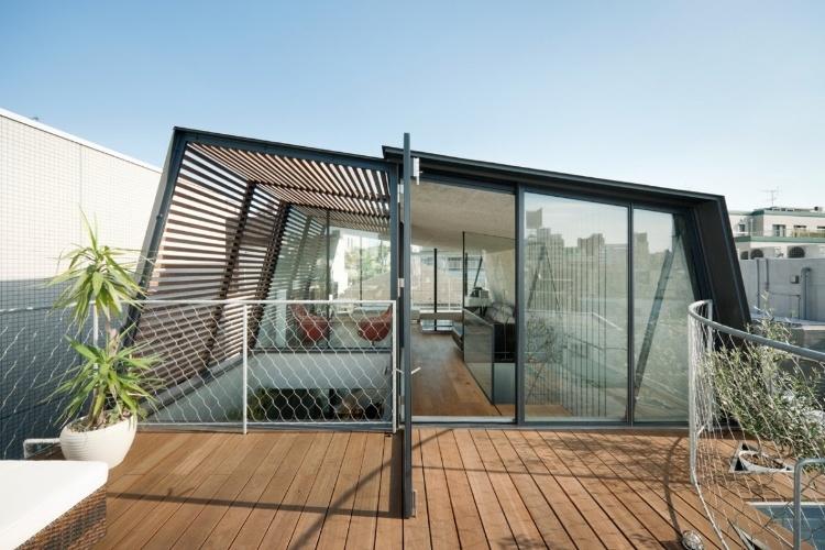 Skycourt house by keiji ashizawa design homeadore - Residence contemporaine sky garden keiji ashizawa design ...