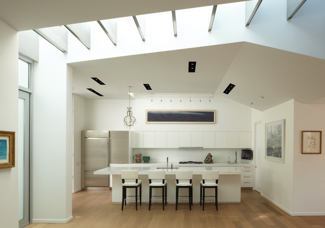 Santa monica canyon residence by griffin enright - Residence santa monica canyon en californie ...