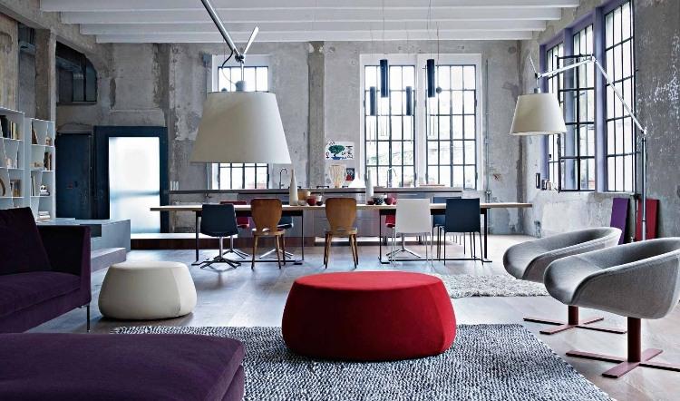 Creative Apartment by B&B Italia | HomeAdore