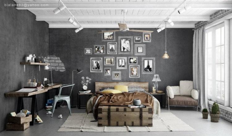Contemporary Interior Visualizations by Adi R Indra G
