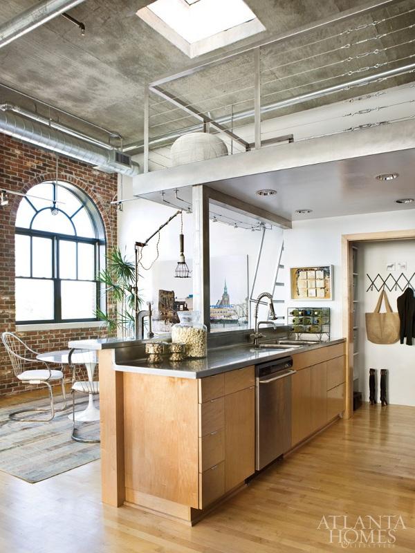 Modern Loft modern loft interior | homeadore