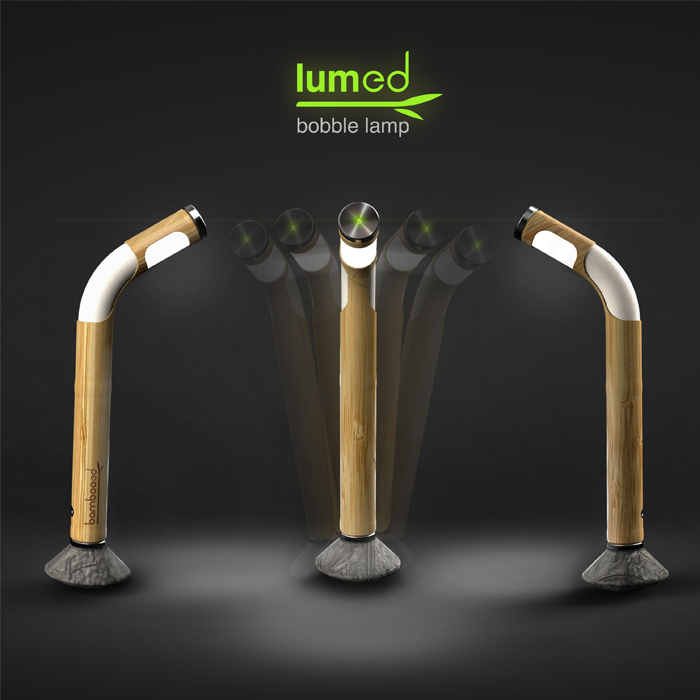 Lumed Bobble Lamp by Bambooed India