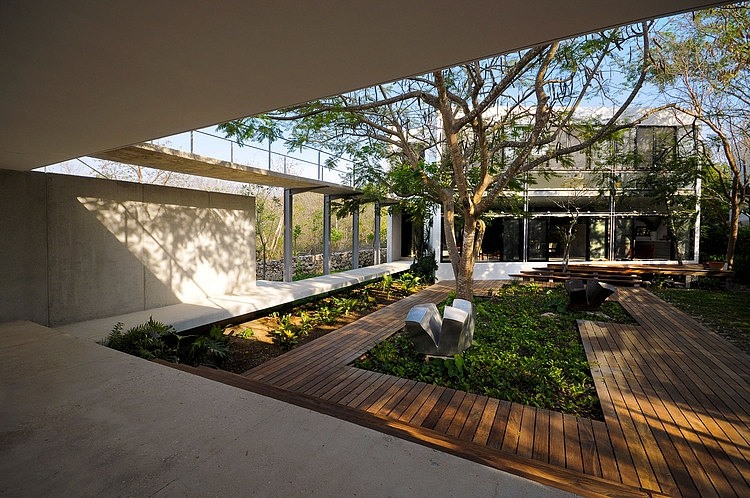 House Among Trees by Muñoz Arquitectos Asociados