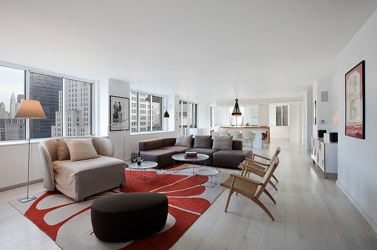 Madison Square Apartment by David Bucovy Architect