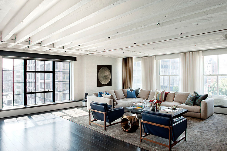Laight Street Loft by David Howell Design « HomeAdore