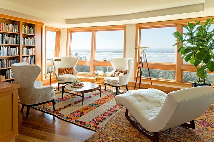 Oregon Coast Home by Jessica Helgerson Interior Design HomeAdore