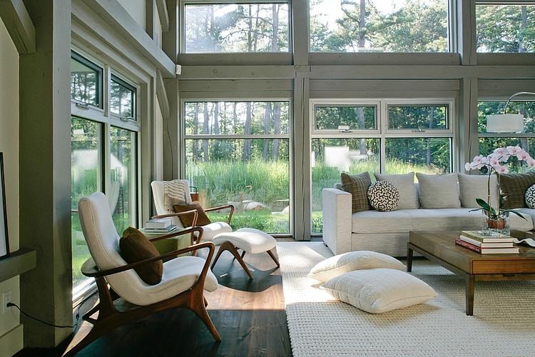modern farmhouse by betty wasserman - Farmhouse House Interior