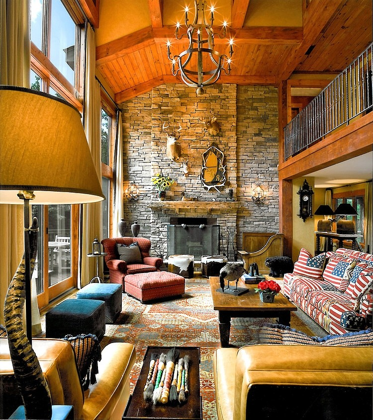 Mountain Retreat By Eberlein Design Consultants