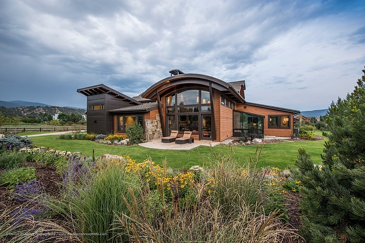 Roaring fork house by ellis design inc homeadore for Colorado style house plans