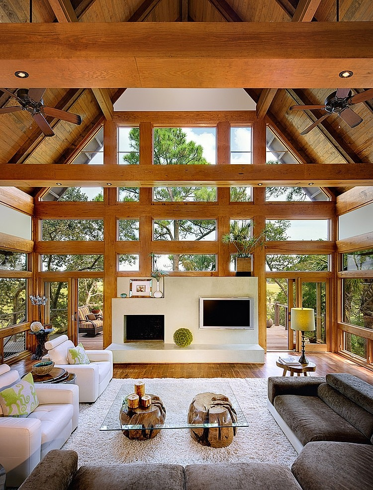 tree house by the anderson studio of architecture design - Tree House Interior Ideas