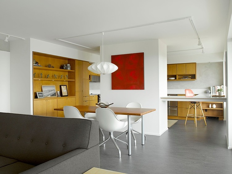 Mid Century Flat Remodel By SHED Architecture Design
