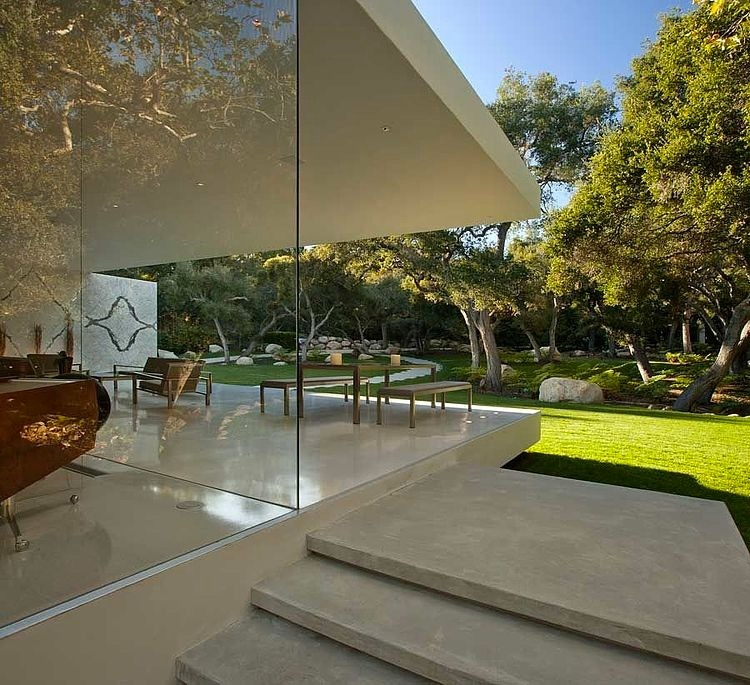 The Glass Pavilion By Steve Hermann Homeadore