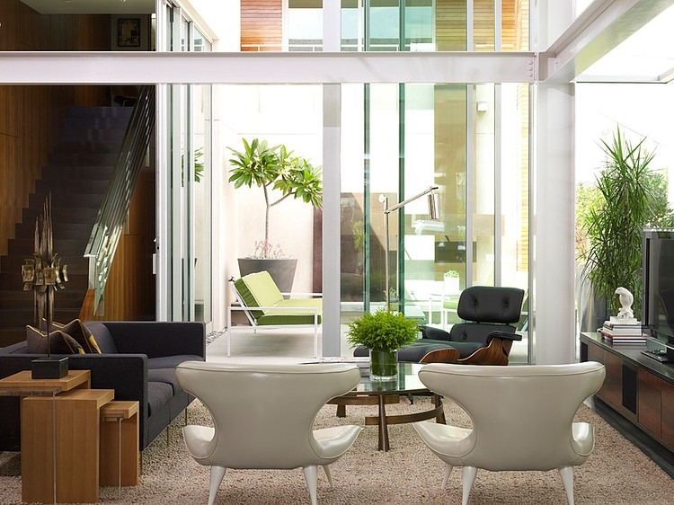 Warm Modern Interiors by Kenneth Brown Design « HomeAdore