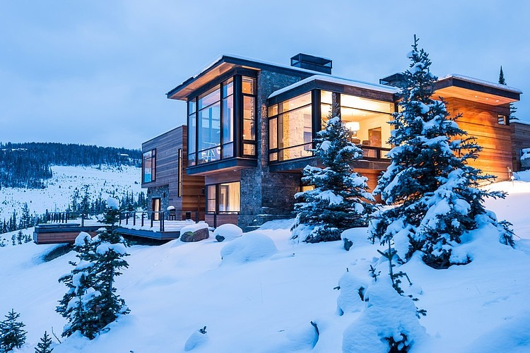 Mountain Modern Retreat by Pearson Design Group