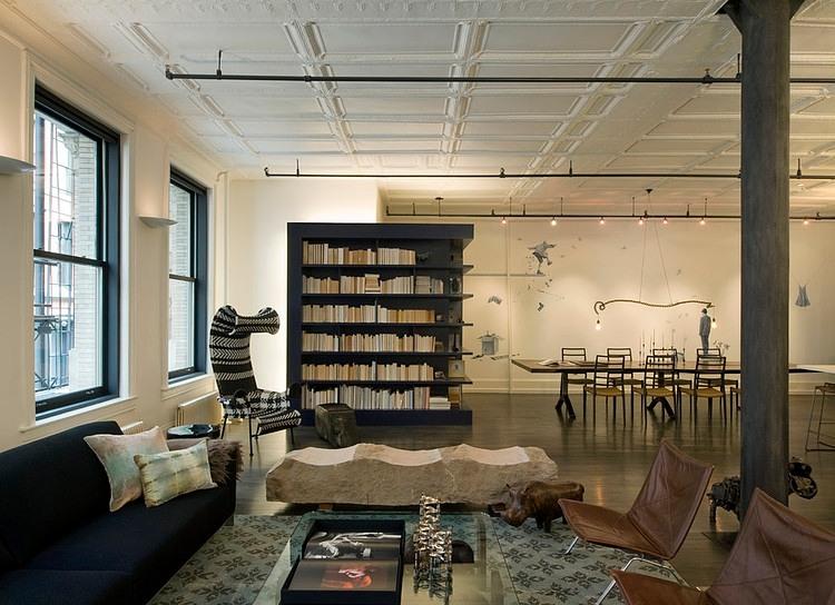 Loft By Design soho loftdavid howell design | homeadore