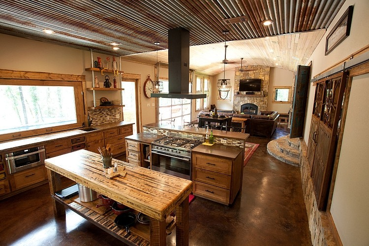 Modern Rustic Residence by Wright-Built
