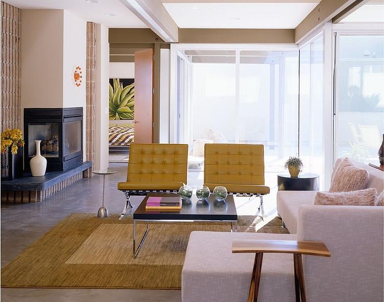 Warm modern home by kenneth brown design