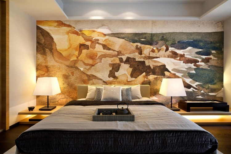 Modern Paint Like Wall Murals